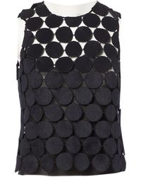 Marni - Pre-owned Navy Cotton Tops - Lyst