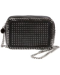 Stella McCartney - Pre-owned Falabella Leather Crossbody Bag - Lyst
