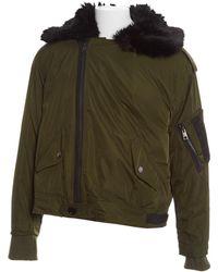 Zadig & Voltaire - Khaki Polyester Jacket - Lyst