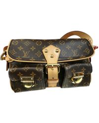 Louis Vuitton - Pre-owned Manhattan Leather Crossbody Bag - Lyst
