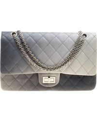 39d195fe6ef1 Chanel Quilted Leather Reissue 2.55 Classic 226 Flap Bag in Black - Lyst