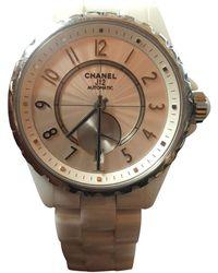 Chanel - J12-365 White Steel Watches - Lyst