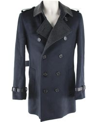 Burberry - Pre-owned Wool Coat - Lyst