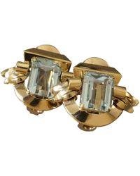 Cartier - Yellow Gold Earrings - Lyst
