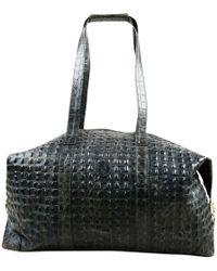 Fendi - Black Crocodile - Lyst
