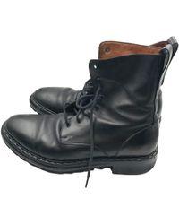 Givenchy - Black Leather Boots - Lyst