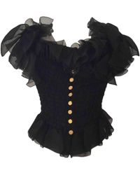 Chanel - Pre-owned Silk Corset - Lyst