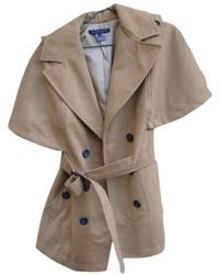 Marc By Marc Jacobs - Beige Wool Coat - Lyst