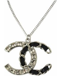 Chanel - Cc Necklace - Lyst