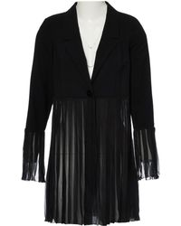 Chanel - Pre-owned Vintage Black Wool Jackets - Lyst