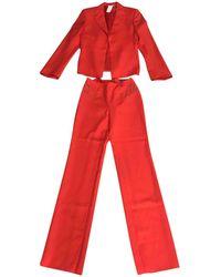 Versace - Vintage Red Wool Jacket - Lyst