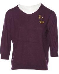 Louis Vuitton - Purple Cashmere Knitwear - Lyst