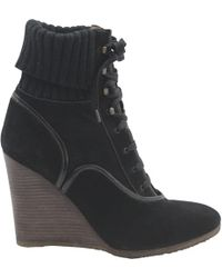 Chloé - Lace Up Boots - Lyst