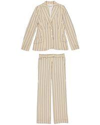 Dior - Pre-owned Vintage Beige Silk Jacket - Lyst
