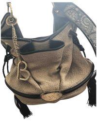 Lancel - Brigitte Bardot Beige Leather Handbag - Lyst