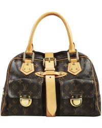 Louis Vuitton - Manhattan Cloth Handbag - Lyst