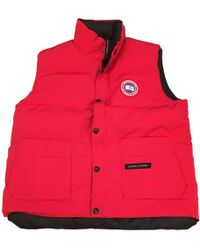 Canada Goose - Red Polyester - Lyst