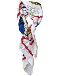 Hermès - Pre-owned Vintage Carré 90 Multicolour Silk Silk Handkerchief - Lyst