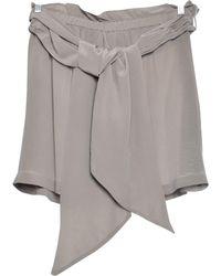 Étoile Isabel Marant - Beige Silk Shorts - Lyst
