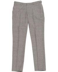 The Kooples - Pre-owned Grey Wool Trousers - Lyst