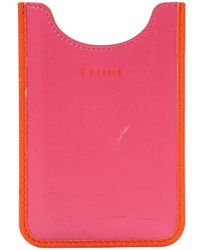Céline - Pre-owned Leather Phone Charm - Lyst