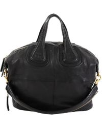 Givenchy - Nightingale Black Leather - Lyst