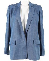 Acne Studios - Blue Polyester Jacket - Lyst