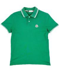 Moncler - Green Cotton - Lyst