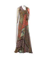 Etro - Multicolour Silk Dress - Lyst