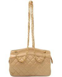 Chanel - Sac à main en cuir - Lyst