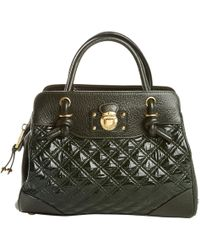 Pre-owned - Saddlebag in patent leather Marc Jacobs LdEwVhj