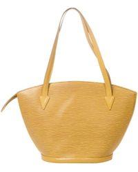 Louis Vuitton - St Jacques Leather Handbag - Lyst