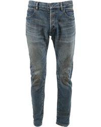 Balmain - Pre-owned Slim Jean - Lyst