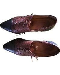 Hermès - Pre-owned Vintage Brown Leather Heels - Lyst