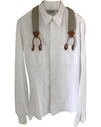 Moschino - Pre-owned White Cotton Shirts - Lyst