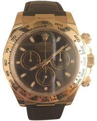 Rolex - Daytona Yellow Gold Watch - Lyst