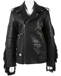 Alexander Wang - Leather Jacket - Lyst