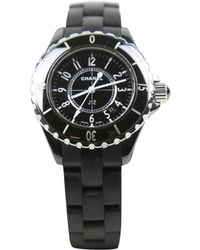 Chanel - Pre-owned Ceramic Watch - Lyst