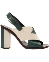 236ffdcc645 Tory Burch Ankle Strap Sandals - Keri High Heel in Black - Lyst