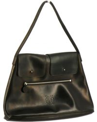 Jean Paul Gaultier - Pre-owned Vintage Black Leather Handbag - Lyst