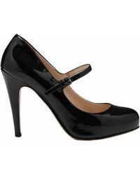Pre-owned - Black Leather Heels Miu Miu 0lcPBs