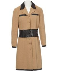 Chanel - Pre-owned Wool Coat - Lyst