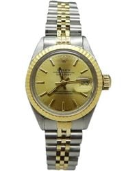 Rolex - Pre-owned Lady Oyster Perpetual 26mm Watch - Lyst
