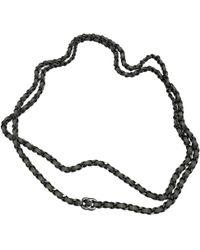 Chanel - Grey Chain Belts - Lyst