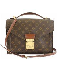 Louis Vuitton - Monceau Cloth Crossbody Bag - Lyst