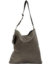 Golden Goose Deluxe Brand - Silver Leather Handbag - Lyst