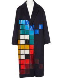 Anya Hindmarch - Wool Coat - Lyst