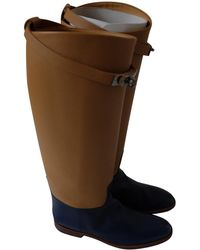 Hermès - Pre-owned Jumping Leather Riding Boots - Lyst