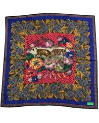 Christian Lacroix - Multicolor Silk Silk Handkerchief - Lyst