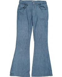 Miu Miu - Bootcut Jeans - Lyst